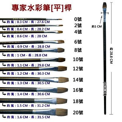 【文具通】A專家4號水彩筆[平] A1060193