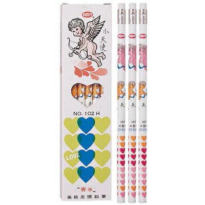 【文具通】Liberty 利百代 102 小天使香水皮頭鉛筆 A1110002