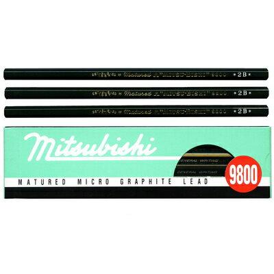 【文具通】UNI 三菱 9800 製圖鉛筆 4B A1110060