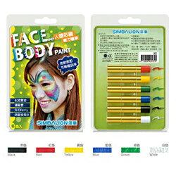【文具通】SIMBALION 雄獅 3207039A 人體 魔力 彩繪筆 6色組 A1120195