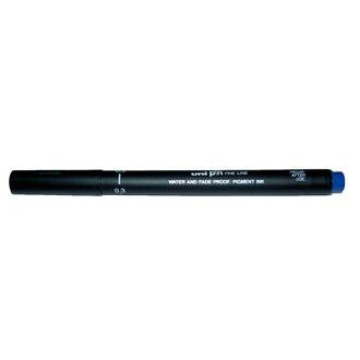 【文具通】三菱pin200 0.3代針筆 藍 A1140108