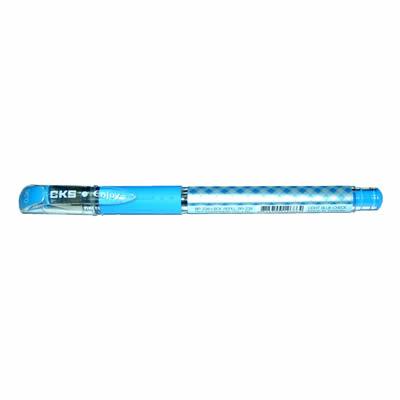 【文具通】CKS 新雪克 BP-238彩格中性筆 淺藍0.38 A1301961
