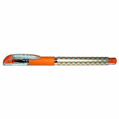 【文具通】CKS 新雪克 BP-238彩格中性筆 橘0.38 A1301963