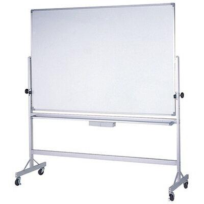 【文具通】LMM304雙面白板+鐵迴轉架90x120 A2010128