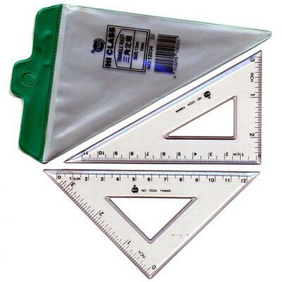 【文具通】巴士高級4吋三角板NO.12034 A2040021