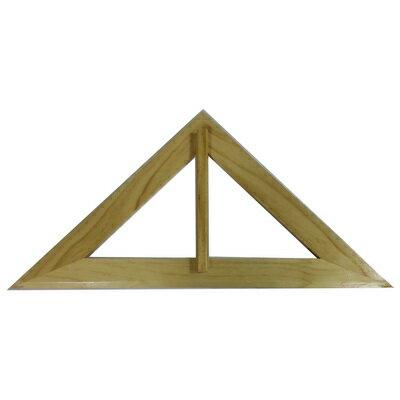 【文具通】YY04545度等腰木三角板42x59x42A2040023