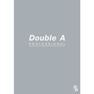 【文具通】Double a A5 25k40張入膠裝固頁筆記 灰 A3011243
