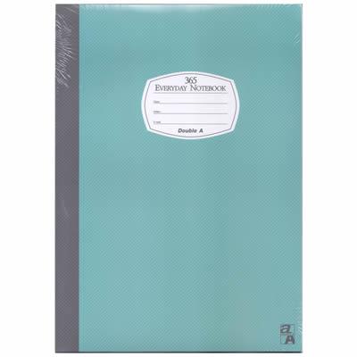 【文具通】DoubleA18k40張入膠裝固頁筆記藍14007A3011296