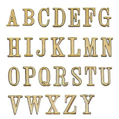 【文具通】DIY 圓弧燙金英文字標示牌 可貼 A 5cm AA010475