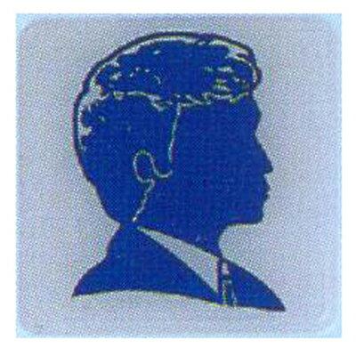 【文具通】標示牌指標可貼 RH-501 化妝室 男 11.5x11.5cm AA010635