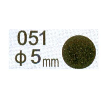 【文具通】Herwood 鶴屋 圓形標籤5mm黑 AS051A