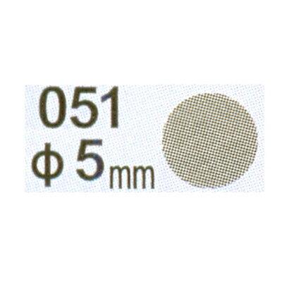 【文具通】Herwood 鶴屋 圓形標籤5mm灰 AS051N