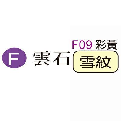 【文具通】F09 雪紋A4特級厚卡.黃 ASF09