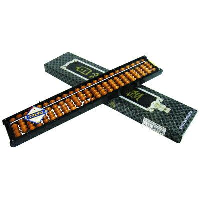 【文具通】STRONG 自強 4355算盤 4x23(檔自動式樺玉) B2020023