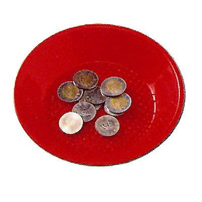【文具通】18cm 紅色塑膠小費盤[25] C-25 B2110001