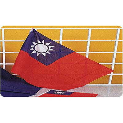 【文具通】副6號 中華民國 國旗 旗面 約80x110cm 尼龍 C1010002