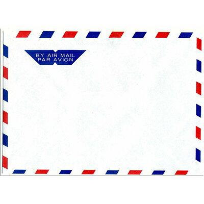 【文具通】愛德15K 西式航空信封11.7*16.2cm D1010205