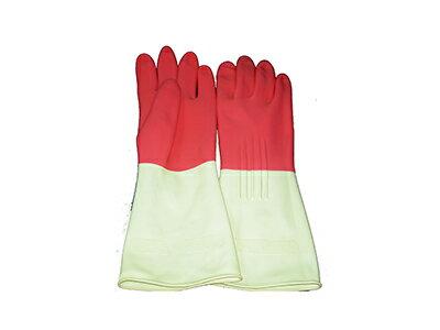 【文具通】雙色橡膠手套 DH000026