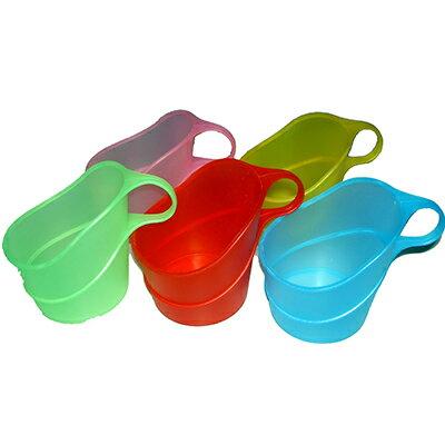 【文具通】4入彩色杯套 紙杯適用 DH000035 DH000035