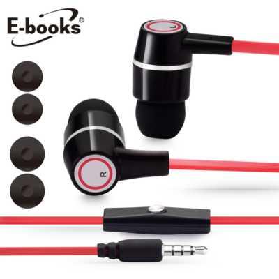 【文具通】E-books S24音控接聽入耳式耳機 E-EPA086