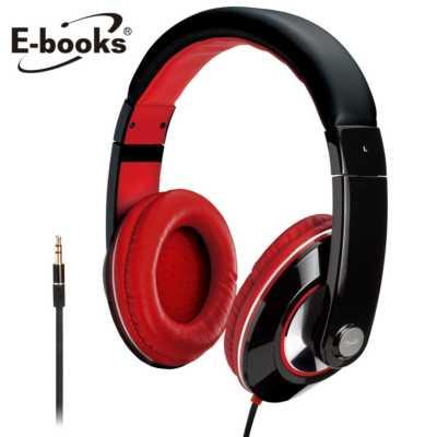 【文具通】E-books G4 魔幻美聲高音質全罩耳機黑 E-EPC054BK