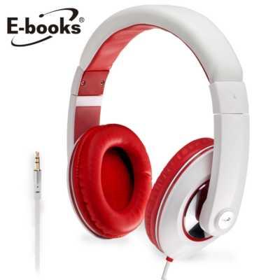 【文具通】E-books G4 魔幻美聲高音質全罩耳機白 E-EPC054WH