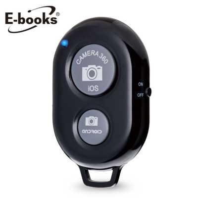 【文具通】E-books N16 無線藍牙自拍器黑 E-IPB049BK