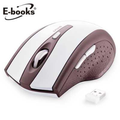 【文具通】E-books M20 六鍵式省電無線滑鼠 E-PCG105