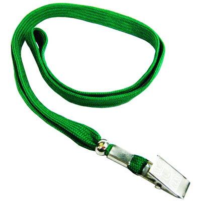 【文具通】無印字 識別證帶 識別帶 掛繩 識別吊式布帶 綠色 E1010023