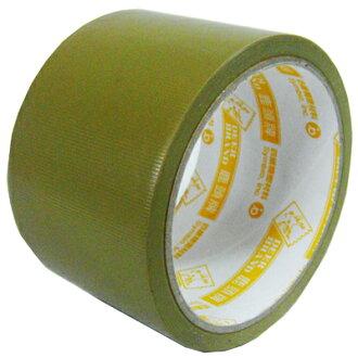【文具通】四維 鹿頭 PVC布紋膠帶 60mm x12m E1030008