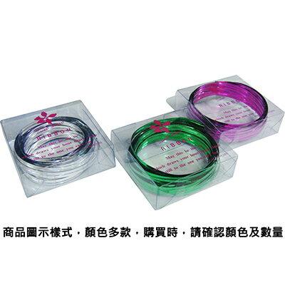 【文具通】PanShing 潘興 透明盒入彩色魔帶[銀色] E1150015