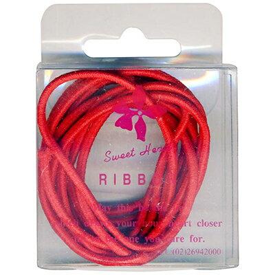 【文具通】PanShing 潘興 透明盒入伸縮緞帶[紅色] E1150089
