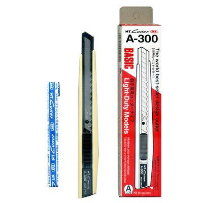 【文具通】NT Cutter A-300GR美工刀 E2020001