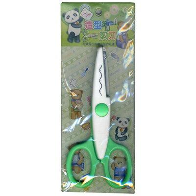 【文具通】寶美造型花邊剪刀M9160 E2040395