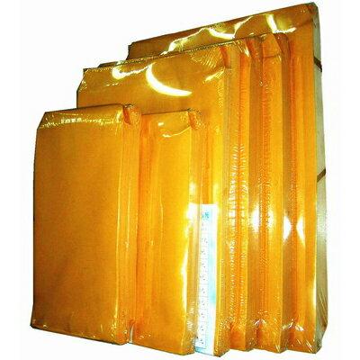 【文具通】黃皮 公文袋/公文信封 NO.5 大9K 黃皮公文袋 約250x190mm 不含蓋 100入 E7050446 E7050446