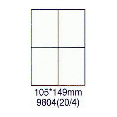 【文具通】華麗牌 阿波羅 影印雷射噴墨用透明護貝膠膜 9804 F6010383