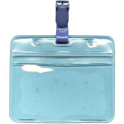【文具通】塑膠附扣防水識別套組 F6010599