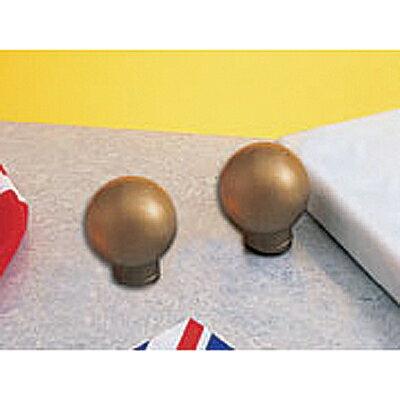 【文具通】平光金 軟塑膠 圓 旗頭 1H05B 7尺桿以上用 直徑約3cm F8010001