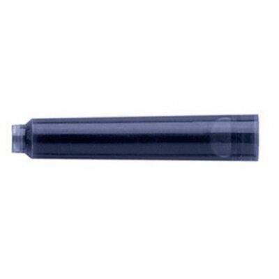 【文具通】Faber-Castell輝柏鋼筆補充配件卡式墨水黑色6支裝FBC-148706