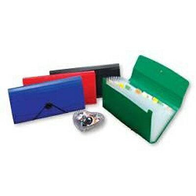 【文具通】12層分類公事包(小型) 綠 HFF4303G1