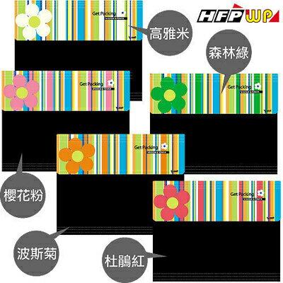 【文具通】繽紛花朵線條經理夾A4(米) HFGP7000F-B1