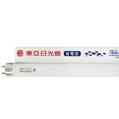 【文具通】東亞照明 省電型 日光 燈管 晝光色 FL20D/18 18W/6500K 整箱 25支入 I6010195