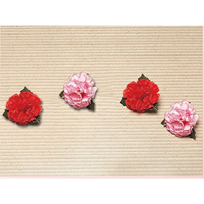【文具通】康乃馨胸花[小] K2010009