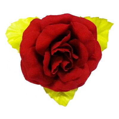 【文具通】布絨胸花大10cm紅K2010070