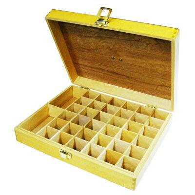 【文具通】木質 印章盒 約31.5x25.5x7.3cm 加大 K4050054 K4050054