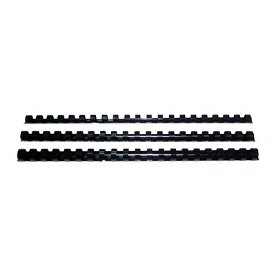 【文具通】25 m/m裝訂膠環[黑] K5010039