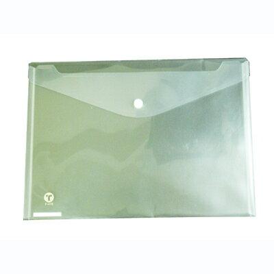 【文具通】F-310鈕扣文件袋橫[白]聯勤EN03 L1020042