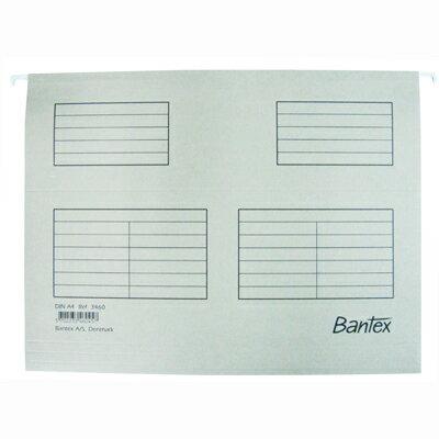 【文具通】BANTEX 吊夾A4[灰] 3460# L1160014