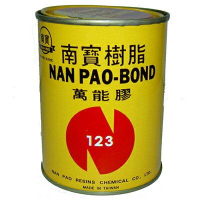 【文具通】南寶123罐裝強力膠 L2050001