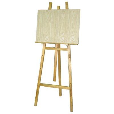 【文具通】4尺 約120cm 室內 原木 畫架 不含畫板需另購 每組皆附插銷可調整畫板高低 L3010007